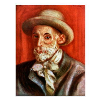 Renoir - Self-Portrait 1910 by Pierre Renoir Postcard