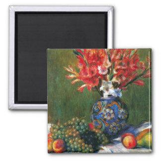 Renoir still life Flowers and Fruit art painting Refrigerator Magnets