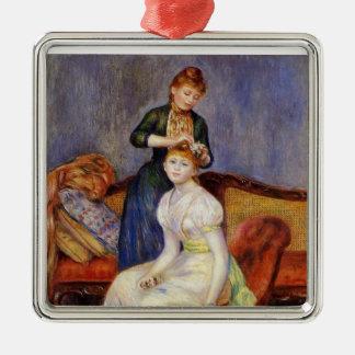 Renoir: The Coiffure Metal Ornament