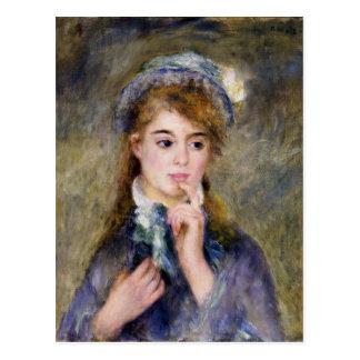 Renoir - The Ingenue Postcard