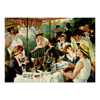 Renoir: The Luncheon of the Boating Party Poster