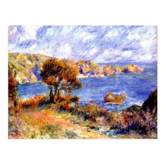 Renoir - View at Guernsey Postcard