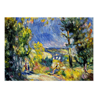 Renoir - View Close to Antibes Poster