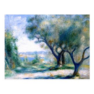 Renoir - View of Mourillon Postcard