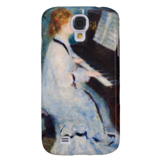 Renoir Woman at Piano Samsung Galaxy S4 Cases