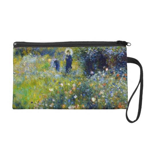 Renoir -  Woman with Parasol Wristlet Purse