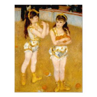 Renoir's Acrobats at the Cirque Fernando (1879) Card