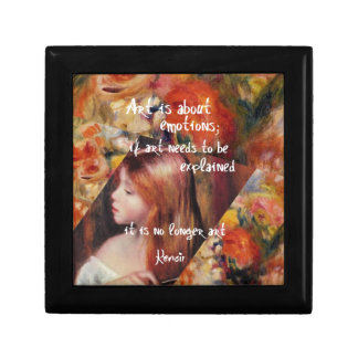Renoir's art is full of emotions gift box