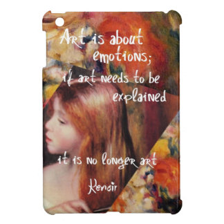 Renoir's art is full of emotions iPad mini cases