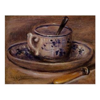 Renoir's Cup and Saucer Still Life Postcard