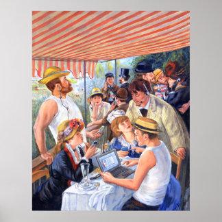 Renoir's Luncheon 2.0 Poster