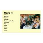 Renoir's Luncheon of the Boating Party (1881) Business Card