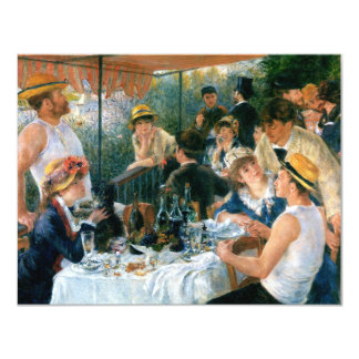 Renoir's Luncheon of the Boating Party (1881) Card