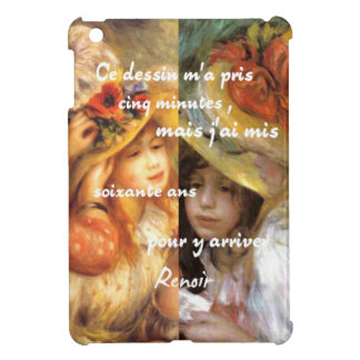 Renoir's paintings is plenty of love case for the iPad mini