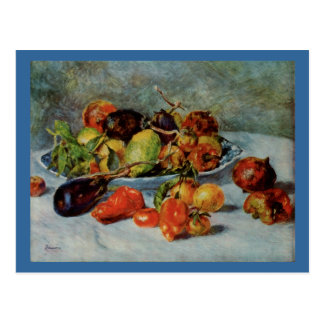 Renoir's Still Life with Mediterranean Fruit, 1911 Postcard