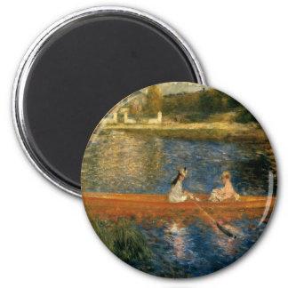Renoir's The Seine at Asnières (The Skiff) ca 1879 Magnet