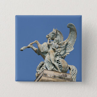 Renown Holding Back Pegasus 15 Cm Square Badge