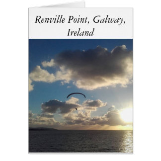 Renville Point, Galway, Ireland Card