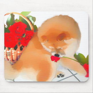 RENY heARTdog chow Mouse Pad