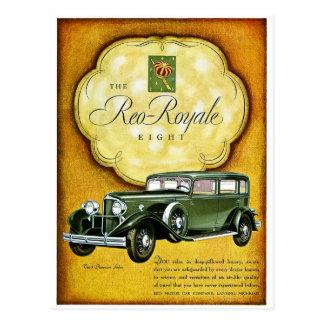 Reo Royale Eight Postcard