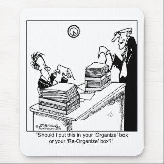 Reorganize Box Mouse Pad