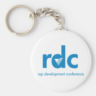 Rep Development Conference Basic Round Button Key Ring