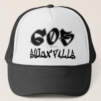 Rep Sioux Falls (605) Trucker Hat