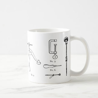 Repair Schematics Design Coffee Mug