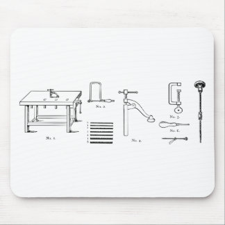 Repair Schematics Design Mouse Pad