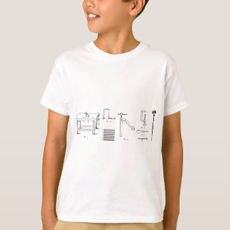 Repair Schematics Design T-Shirt