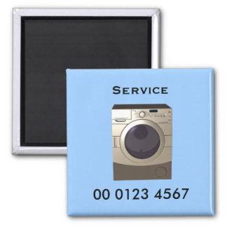 Repair - washing machine service tag magnet