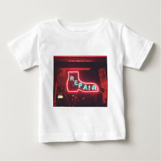 Repare Neon Sign NYC Baby T-Shirt