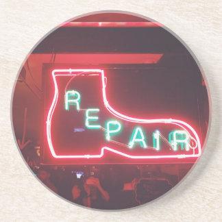 Repare Neon Sign NYC Coaster