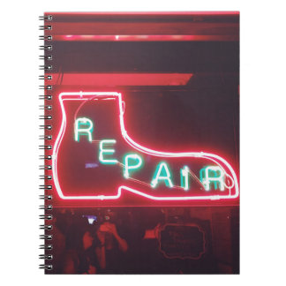 Repare Neon Sign NYC Notebooks