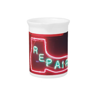 Repare Neon Sign NYC Pitcher