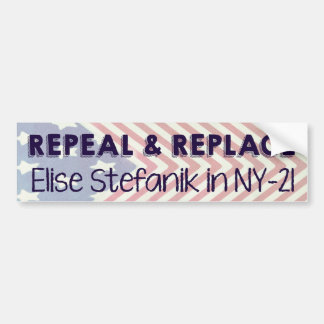 Repeal and Replace Elise Stefanik Bumper Sticker