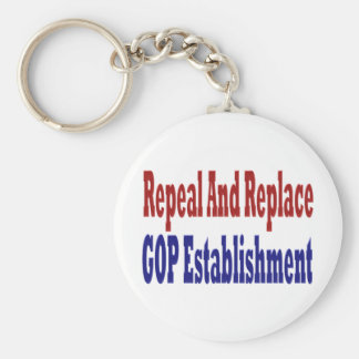Repeal And Replace GOP Establishment Key Chain