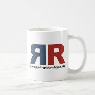 Repeal And Replace Obamacare Basic White Mug