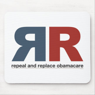 Repeal And Replace Obamacare Mousepads