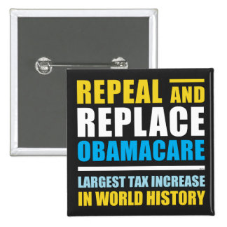 Repeal And Replace Obamacare Pin