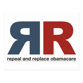 Repeal And Replace Obamacare Postcard