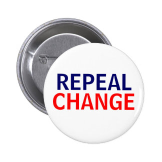 Repeal Change 6 Cm Round Badge