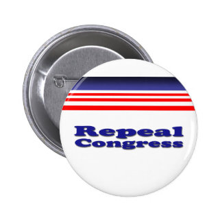 Repeal Congress Pinback Buttons