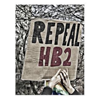 Repeal HB2 Postcard