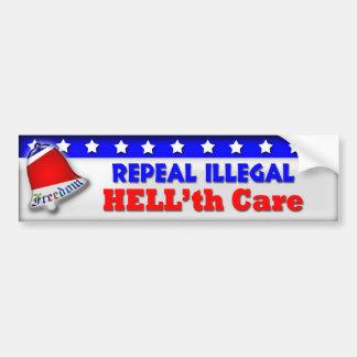 Repeal HELL'th Care Car Bumper Sticker