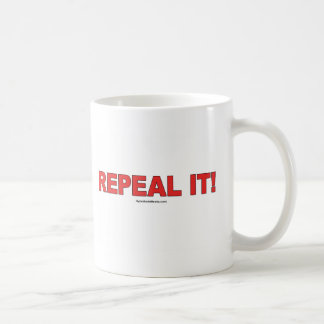 Repeal It! drinkware Coffee Mugs