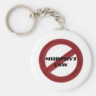Repeal Murphy's Law Keychain