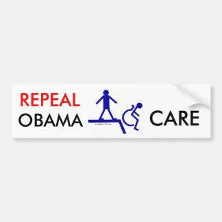 Repeal Obama Care Bumper Sticker Car Bumper Sticker