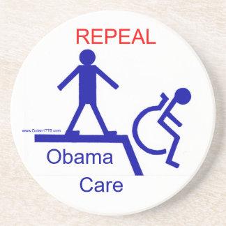 REPEAL Obama Care Coaster Drink Coaster
