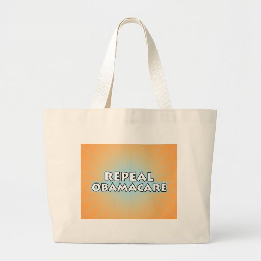 Repeal Obamacare Canvas Bag